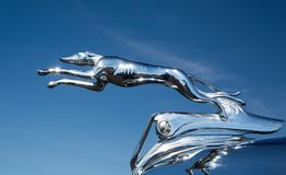 1935 Ford Automobile Hood Ornament royalty free stock photo