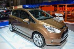 Ford B-massimo al salone dell'automobile di Ginevra Fotografia Stock Libera da Diritti