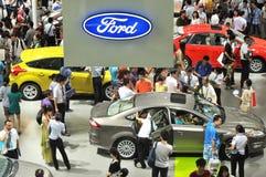 Ford bei Vertriebs-, Gemein- und Verwaltungskosten autoshow 2012 Lizenzfreies Stockbild