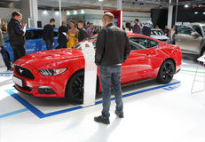 Ford at Belgrade Car Show Stock Image