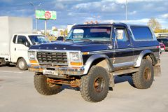 Ford Bronco Ranger Royalty Free Stock Photography