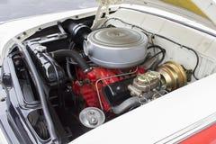 1955 Ford 8 butli silnik Zdjęcia Stock