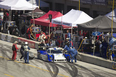 Ford Can-Am at pit stop at Grand AM Rolex Races Stock Image