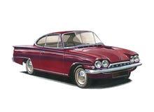 Ford Capri klasyk royalty ilustracja