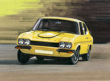 Ford Capri Mk1 RS3100 Obrazy Stock