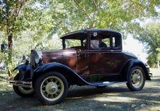 Ford Car antiguo restaurado obra clásica Imagenes de archivo