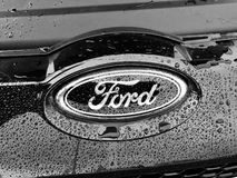 Ford car badge Royalty Free Stock Photos