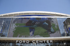 Ford center in city Frisco TX Stock Images
