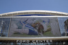 Ford center in the city Frisco TX Stock Image