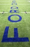 Ford center on football facility field Stock Photo