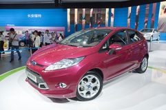Ford chang'an red stock image