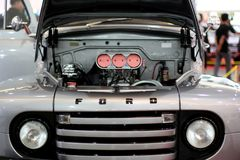 Ford classic truck stock photography