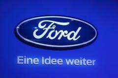 Ford Company Logo imagem de stock royalty free