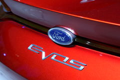 Ford Concept Car EVOS at the IAA Royalty Free Stock Images