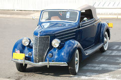 Ford Convertible Coupe 1936 Royaltyfria Foton