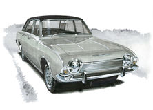 Ford Corsair 2000E Royalty Free Stock Images