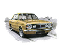 Ford Cortina MkII 1600E Stock Photography