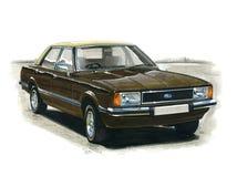 Ford Cortina MkIV Ghia Stockbild