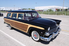Ford Country Squire station wagon Royalty Free Stock Photo