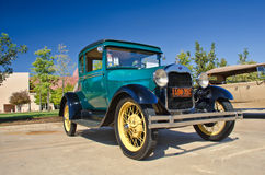 Ford Coupe 1928 Arkivfoton