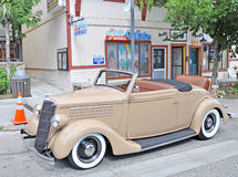 Ford Coupe 1936 Arkivfoto