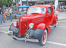 Ford Coupe 1936 Arkivbild