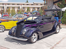Ford Coupe 1938 Arkivbild