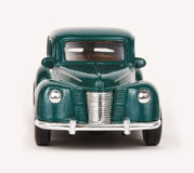 Ford Coupe 1940. 1940 Ford Coupe, Tootsietoy Hard Body 1:32 scale diecast car, front view royalty free stock photos