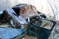 Ford Coupe abandonné par 1941 Photographie stock libre de droits
