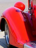 Ford Coupe 1936 em uma feira automóvel imagem de stock royalty free
