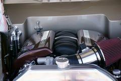 Ford Coupe 1940 under huven Arkivbild