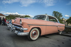 Ford Crestline Skyliner Coupe 1954 Immagini Stock
