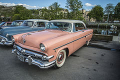 1954 Ford Crestline Skyliner Coupe Fotografia Royalty Free