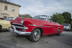 1953 Ford Crestline Sunliner Convertible Royalty-vrije Stock Foto