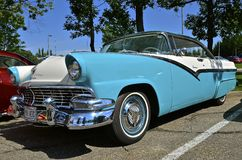 Ford Crown Victoria 1956 Arkivfoto