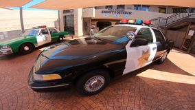 Ford Crown Victoria Police Interceptor stock footage