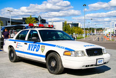 Ford Crown Victoria Police Interceptor Photo stock
