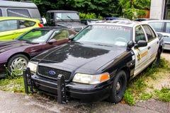 Ford Crown Victoria Police Interceptor immagine stock libera da diritti