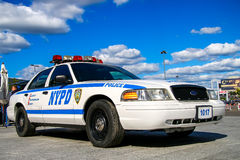 Ford Crown Victoria Police Interceptor Royalty Free Stock Photo