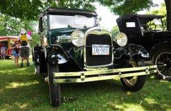 Ford A dans le Car Show antique Photographie stock libre de droits