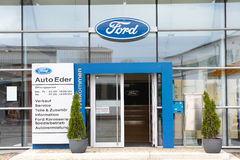 Ford dealership Stock Image
