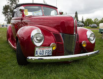 Ford Deluxe 1940's Convertible Royalty Free Stock Photo