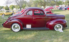 1940 Ford DeLuxe Side-mening Royalty-vrije Stock Afbeelding