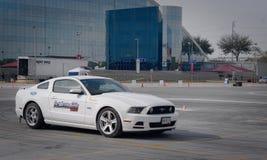 Ford Driving Skills Demo Stock Image