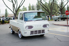 Ford Econoline Pickup classic car on display Stock Photography