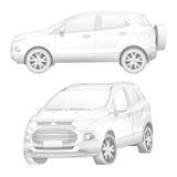 Ford Ecosport Stockfoto