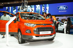 Ford Ecosport car on display Royalty Free Stock Images