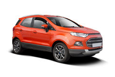Ford Ecosport isolated on white Royalty Free Stock Image