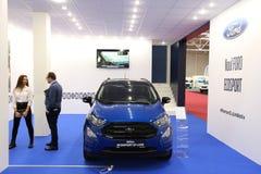 Ford Ecosport St.-Line an SIAB 2018, Romexpo, Bukarest, Rumänien stockbild