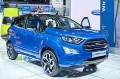 Ford Ecosport ST-linje Royaltyfri Fotografi